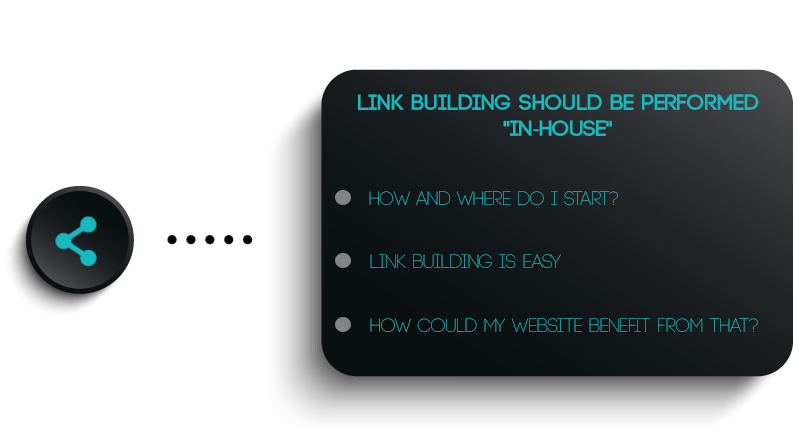"""Link-building Should Be Performed """"In-House"""""""
